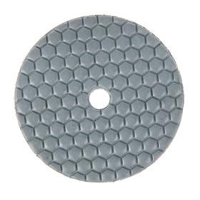 Алмазный гибкий шлифовальный круг TUNDRA, для сухой шлифовки, 100 мм, BUFF черный Ош