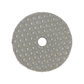 Алмазный гибкий шлифовальный круг TUNDRA, для сухой шлифовки, 100 мм, № 3000 Ош