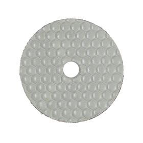Алмазный гибкий шлифовальный круг TUNDRA, для сухой шлифовки, 100 мм, № 400 Ош