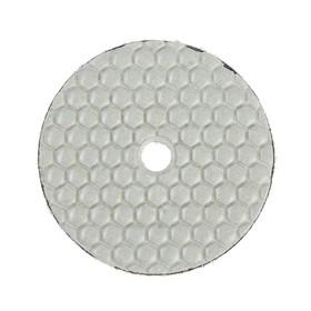 Алмазный гибкий шлифовальный круг TUNDRA, для сухой шлифовки, 100 мм, № 200 Ош