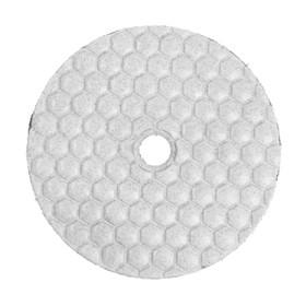 Алмазный гибкий шлифовальный круг TUNDRA, для сухой шлифовки, 100 мм, № 100 Ош
