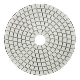 Алмазный гибкий шлифовальный круг TUNDRA, для мокрой шлифовки, 100 мм, № 3000 Ош