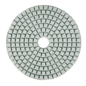 Алмазный гибкий шлифовальный круг TUNDRA, для мокрой шлифовки, 100 мм, № 800 Ош
