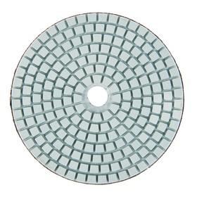 Алмазный гибкий шлифовальный круг TUNDRA premium, для мокрой шлифовки, 100 мм, № 400 Ош