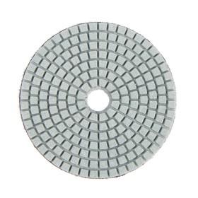 Алмазный гибкий шлифовальный круг TUNDRA, для мокрой шлифовки, 100 мм, № 200 Ош