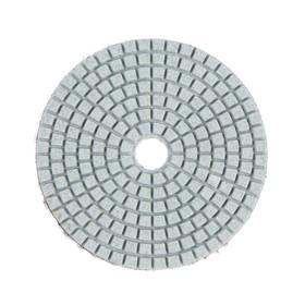 Алмазный гибкий шлифовальный круг TUNDRA, для мокрой шлифовки, 100 мм, № 100 Ош