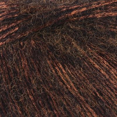 """Пряжа """"Tango"""" 10%меринос. шерсть,20%акрил, 70%полиамид 275м/50гр (1476 коричневый) - Фото 1"""