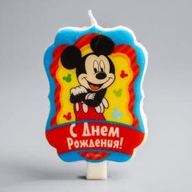 Свеча в торт Дисней 'С Днем Рождения', Микки Маус Ош