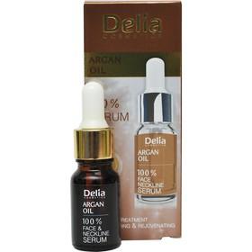 Сыворотка от морщин Delia для лица, шеи, декольте - Argan Oil 35+, 10 мл