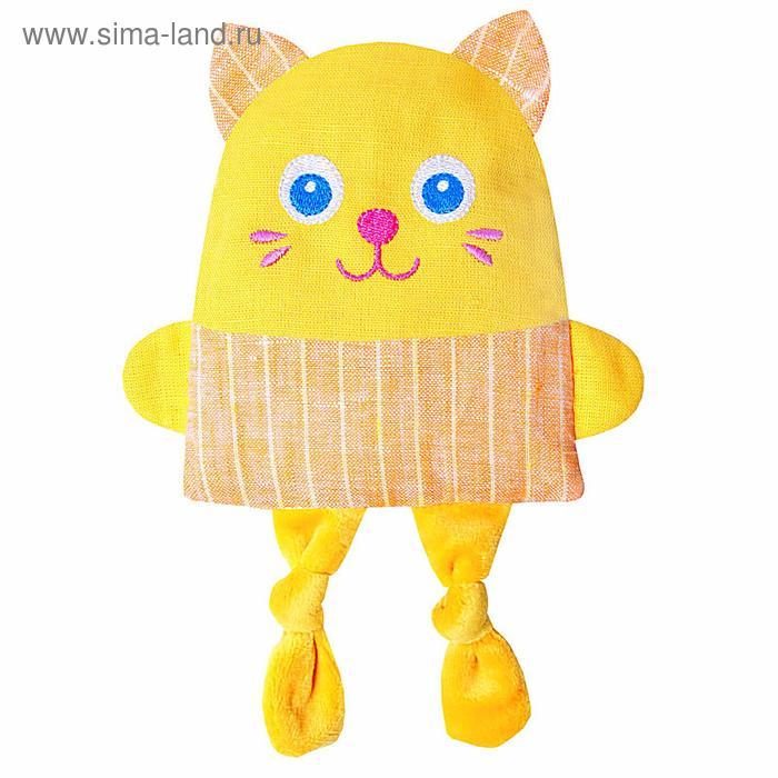 Развивающая игрушка с вишнёвыми косточками «Крошка Кот. Доктор мякиш»