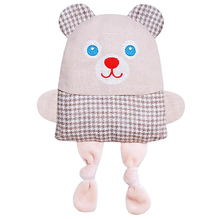 """Развивающая игрушка с вишневыми косточками """"Крошка Мишка. Доктор мякиш"""""""
