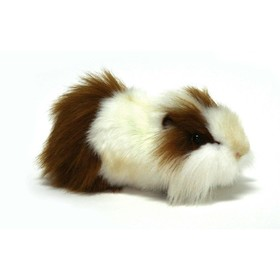 Мягкая игрушка «Морская свинка» бело-рыжая, 30 см