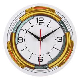 Часы настенные классика, круглые 24 см Ош