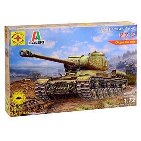 Сборная модель «Советский танк ИС-2» (1:72)