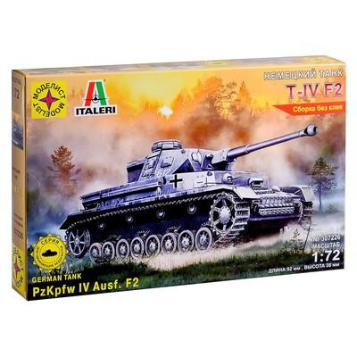 Сборная модель «Немеций танк Т-IV F2» (1:72) - Фото 1