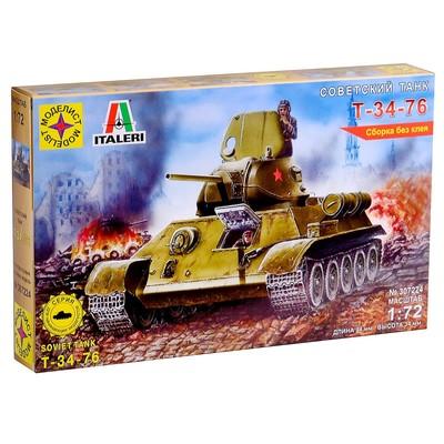 Сборная модель «Советский танк Т-34-76» (1:72) - Фото 1