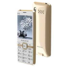 Сотовый телефон Maxvi P15 цвет белое золото