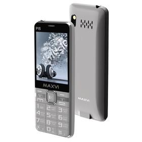 Сотовый телефон Maxvi P15 серый