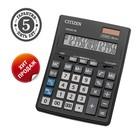 Калькулятор настольный 16-разрядный CDB1601BK 157х200х35 мм, двойное питание, чёрный