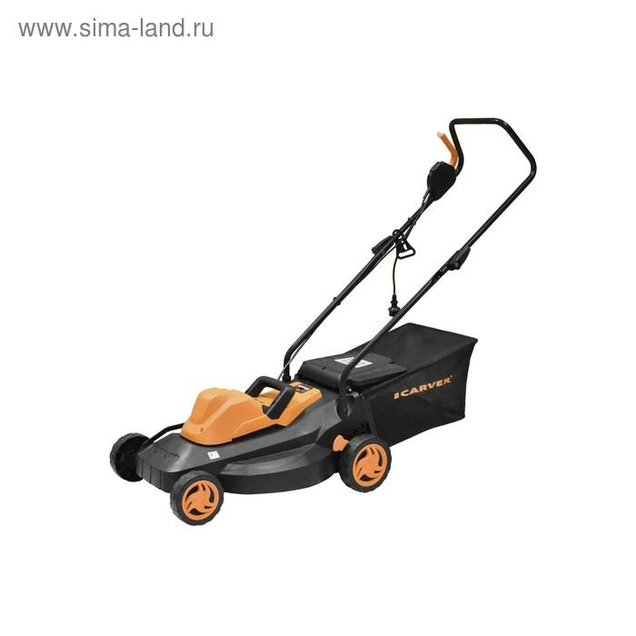 Газонокосилка CARVER LME-1640, электрическая, 1600 Вт, ширина/высота 40 см/27-75 мм, 35 л