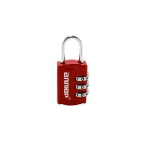 Замок навесной 'АЛЛЮР' ВС1К-22/3 (HA816), кодовый, d=3 мм, красный Ош
