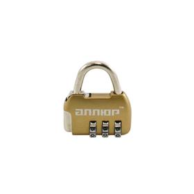 Замок навесной 'АЛЛЮР' ВС1К-35/4 (HA806) GP, кодовый, d=4 мм, цвет золото Ош