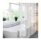 Штора для ванной Meiwa Linea, 182 х 182 см, цвет белый