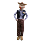 """Карнавальный костюм """"Кабанчик"""", плюш, жилет, брюки, шапка, рост 122-128 см"""