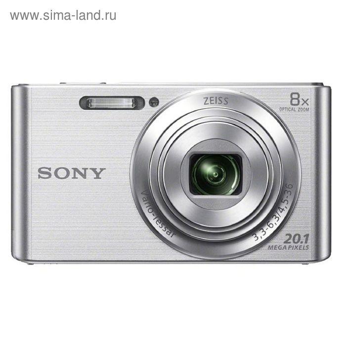Фотоаппарат Sony Cyber-shot DSC-W830 silver 20.4Mpix Zoom8x
