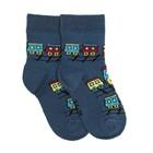 Носки детские НДМ2-2893, цвет джинсовый, р-р 16-18