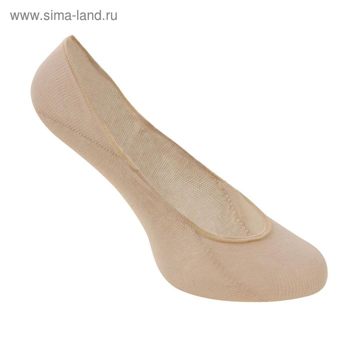 Носки-невидимки FOOTIES цвет бежевый (skin), р-р 29-31