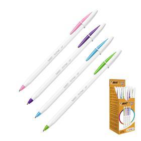 Ручка шариковая BIC Cristal Up Fun, узел 1.2 мм, 4 цвета микс