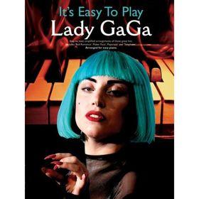 Сборник хитов Леди Гага для начинающих, 64 стр., язык: английский Ош
