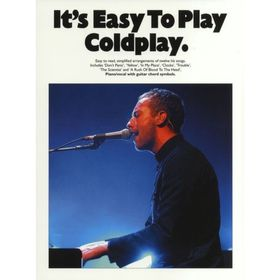 IT'S EASY TO PLAY COLDPLAY PIANO VOCAL GUITAR BOOK Ош