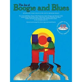 THE JOY OF BOOGIE AND BLUES BOOK/CD Ош