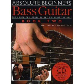 Бас-гитара для начинающих, самоучитель, книга 2, 56 стр., язык: английский Ош