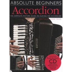Absolute Beginners Accordion аккордеон для начинающих, 40 стр., язык: английский Ош