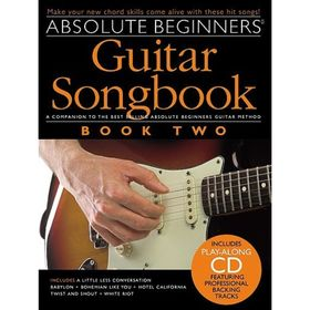 Absolute Beginners: Guitar Songbook - Book Two, книга 2, 48 стр., язык: английский Ош