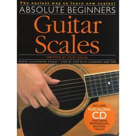 Сборних гитарных гамм для начинающих, 40 стр., язык: английский Ош