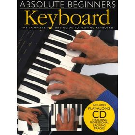 Absolute Beginners: Keyboard  клавишные, 40 стр., язык: английский Ош