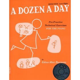 A Dozen A Day: Book Four - Lower-Higher (Book And CD) Книга 4, 32 стр., язык: английский Ош