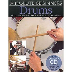 Absolute Beginners: Drums ударные для начинающих, 40 стр., язык: английский Ош