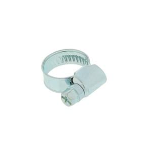 Хомут оцинкованный TUNDRA krep, несквозная просечка, диаметр 12-20 мм, ширина 9 мм Ош