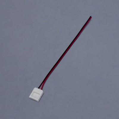 Кабель соединительный Ecola LED strip, 2-х конт. зажимный разъем 10 мм, 15 см, 1 шт. - Фото 1