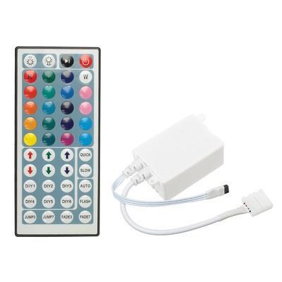 Контроллер для ленты Ecola LED, RGB, 12В-72Вт, 24В-144 Вт, 6А, и/к пульт