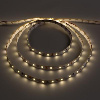 Светодиодная лента Ecola LED strip STD, 8 мм, 12 В, 4200К, 4.8 Вт, 60 Led/м, IP20, 5 м - Фото 1