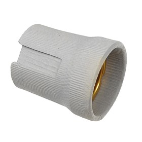 Патрон керамический Ecola base, Е27, белый Ош