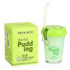 Маска для лица Facial Pudding «Зелёный чай», очищающая, противовоспалительная, 100 г