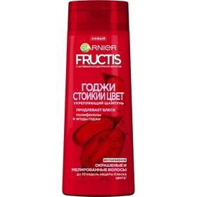 Шампунь Garnier Fructis «Годжи. Стойкий цвет», укрепляющий, для окрашенных или мелированных волос, 400 мл