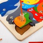 Магнитная мозаика «Рыбалка», 11 деталей, в комплекте 2 удочки - Фото 2